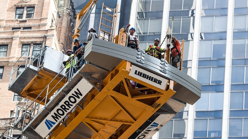 MoMA Tower NYC - Introducing the Liebherr 710 HC-L