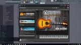 Acoustic guitar library for Kontakt 5. Antonov Samples - Acoustic Rhythm.