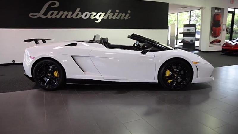 Lamborghini Gallardo LP 550-2 Spyder Bianco Monocerus