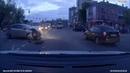 Автоледи протаранила полицейскую машину в центре Белгорода