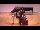 Yoshiaki Horiguchi, Failing- a very difficult piece for solo string bass, by Tom Johnson