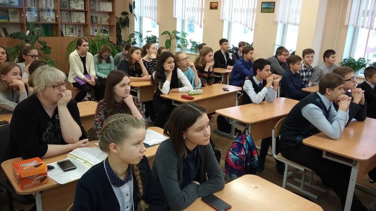 Открытое заседание научного общества учащихся «Юные знатоки»
