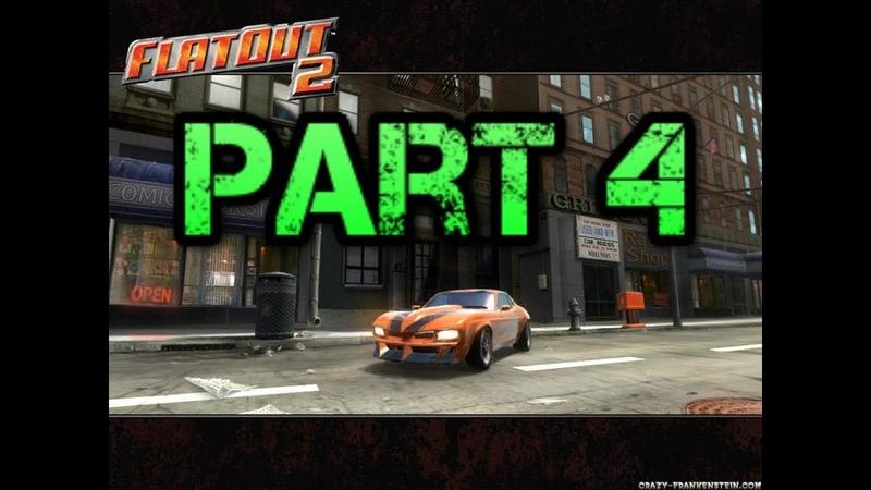 FlatOut 2 (PC) Walkthrough Part 4 Metal Smash Derby Cup [No Commentary] (720 HD)