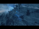 Король Ночи верхом на Визерионе разрушает Стену Ночного Дозора Игра Престолов 7 сезон 7 серия