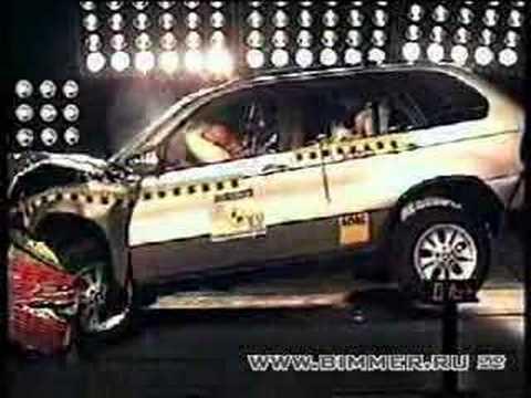 BMW X5 EuroNCAP crash test