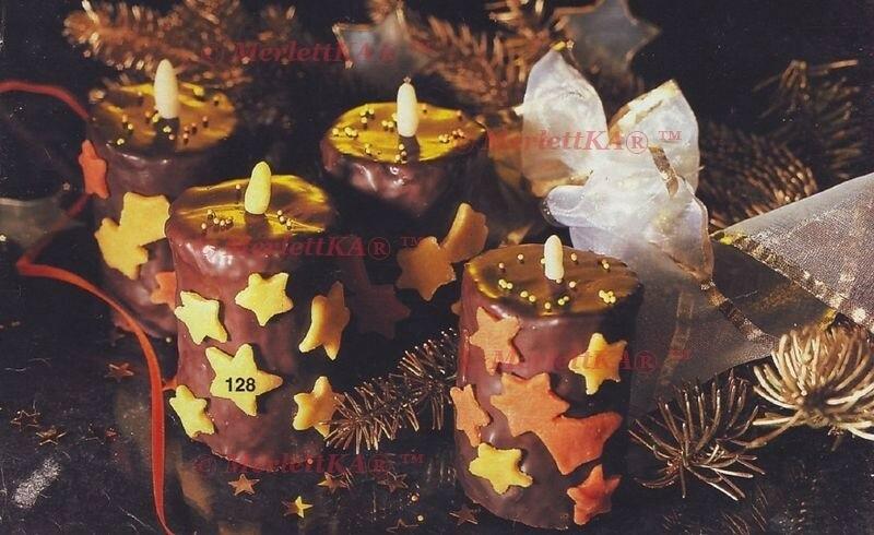 Сладкие свечи: рецепт выпечки