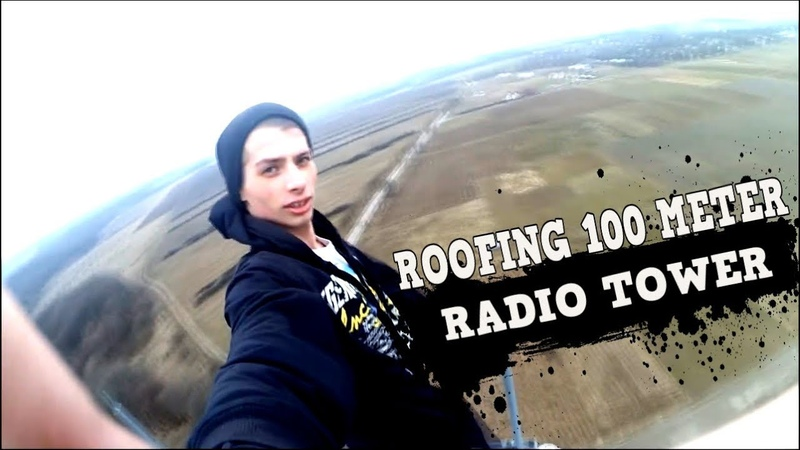 ROOFING 100 METER RADIO TOWER | CLIMB TO HEAVEN | РУФИНГ 100 МЕТРОВОЙ ВЫШКИ ОТ ПЕРВОГО ЛИЦА