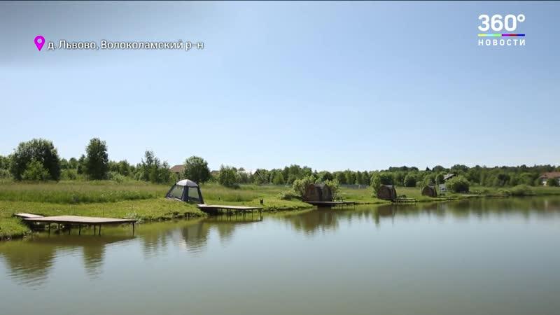 Лето в Подмосковье Много рыбы олени и чистый воздух здоровый отдых в Волоколамском районе
