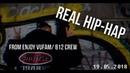 Real Hip-Hap, dancer: Enjoy Vufam/ 812 Crew.