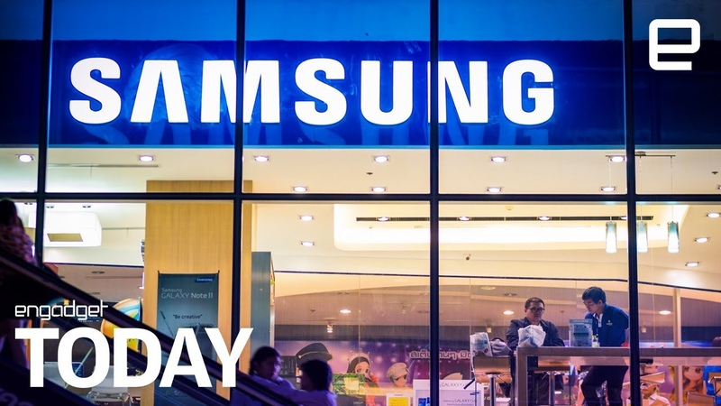 Samsungs foldable smartphone could be revealed as soon as November | Engadget Today