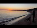 Закат на заливе 15 октября 2018