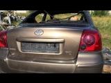 В разборе Toyota Avensis 2 (Тойота Авенсис) ДВС 2.0 147л.с. 1AZSE / АКПП Седан 2004 до рестайл