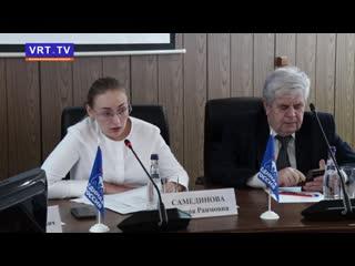 Реализация гос.программ. С городскими коллегами-однопартийцами встретилась депутат Мособлдумы Линара Самединова.