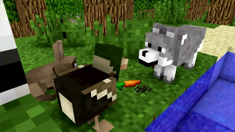 WOLF LIFE MOVIE - Cubic Minecraft Animations - All Episodes BONUS.mp4