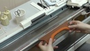 Вязание закругленного низа изделия на вязальной машине. Часть 2