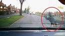 Kid cheats death twice after getting hit by a car in Nottingham | Video