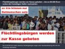 Flüchtlingsbürgen werden zur Kasse gebeten