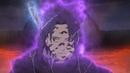 Саске Использует Проклятую Печать Орочимару против Наруто в Режиме Отшельника