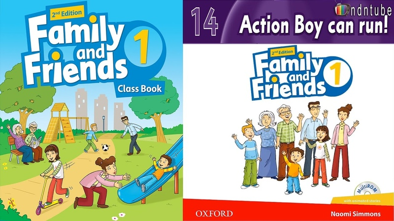 FAMILY AND FRIENDS 1 Unit 14 ACTION BOY CAN RUN