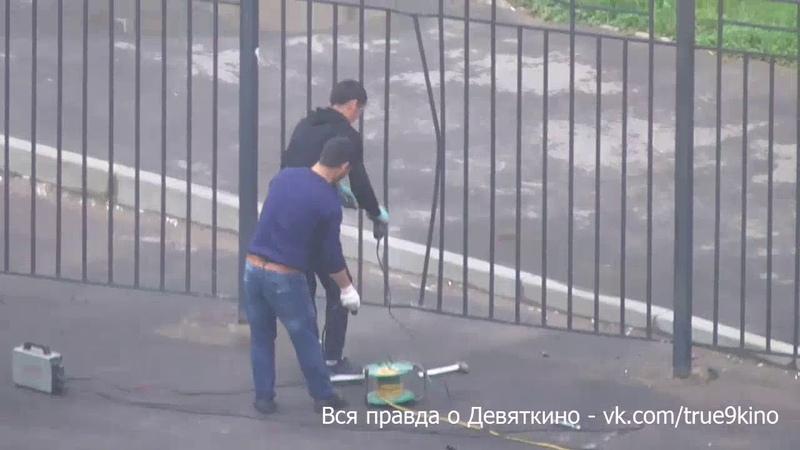 Ремонт забора ЖК Виктория Мавис