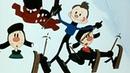 Метеор и другие 1. Снежные дорожки. Лучшие советские мультфильмы о спорте в HD качестве