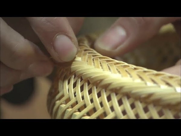 Ancient Technology of Making Beppu Bamboo Crafts - Incredible Bamboo Woodworking Skills