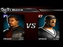 Def Jam Vendetta 2 Proof vs Spider Novice League