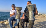 One of Our Best Darbuka Solo on The Beach