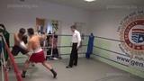 Olegs Asejevs 65,4 kg. VS Zaurs Sadihovs 66,8 kg. 10.01.2015 proboxing.eu