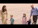 Duchess Kate Shows Chelsea 'Back To Nature' Garden To Princes George, Louis, Princess Charlotte!