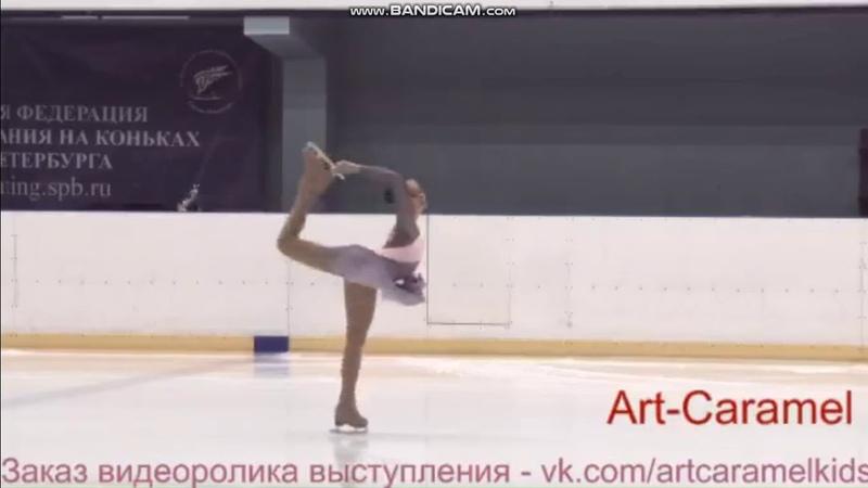 Ангелина Зубачева ПП 1 этап Кубка Санкт-Петербурга 2018