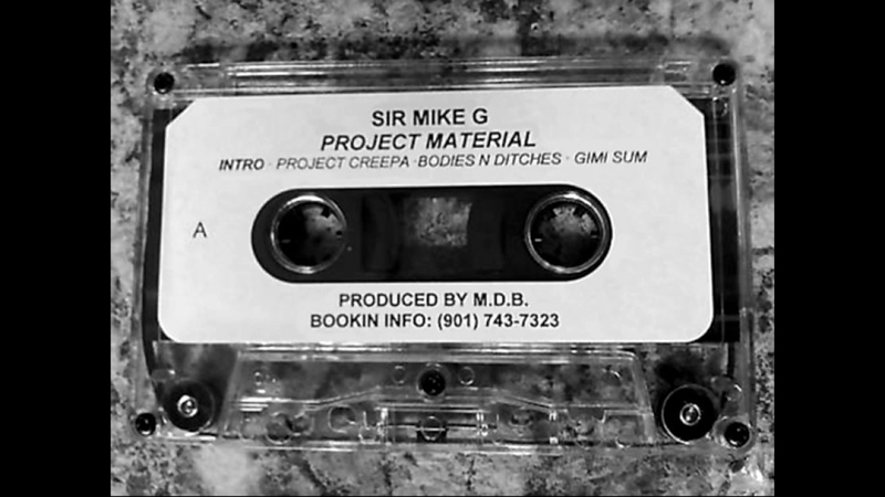 Sir Mike G - Project Material [Full Tape]