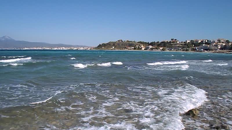 Море между Коринфом и Лутраками 2 сентябрь2018