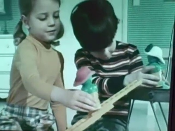 Старая реклама Плей До 1973 Kenner Play Doh Pumper No 9 toy TV commercial