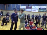 How to Break the Punch Wrist ( Владимир Васильев как сломать запястье )