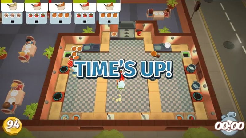 Overcooked / Вова, Стёпа и Женя 2