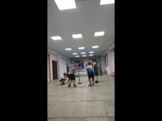 Тренировка юных боксёров, СК