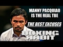 PACQUIAO'S ONE OF THE WORST SORE LOSERS EVER