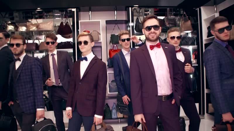 Участники конкурса Мистер Алтай 2019 в бутике Stefan в ТРЦ Огни