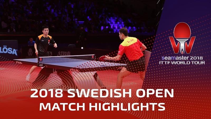 Fan Zhendong vs Xu Xin I 2018 ITTF Swedish Open Highlights (Final)