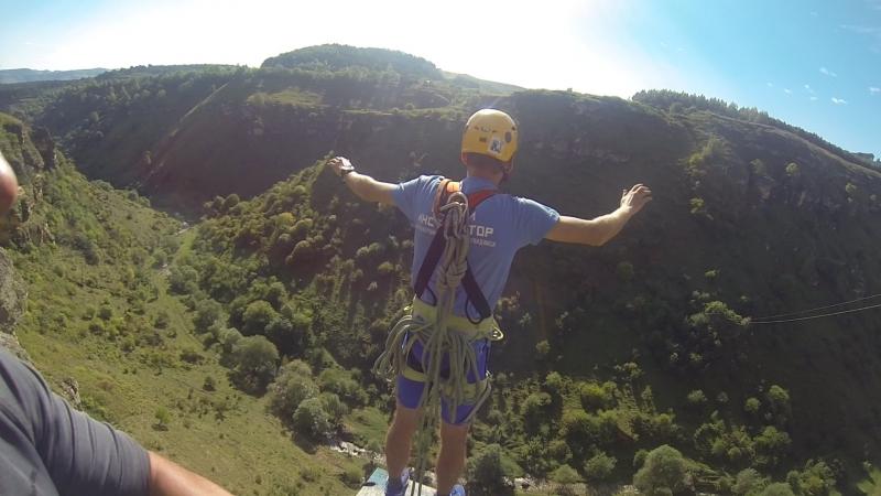 Мой прыжок со скал