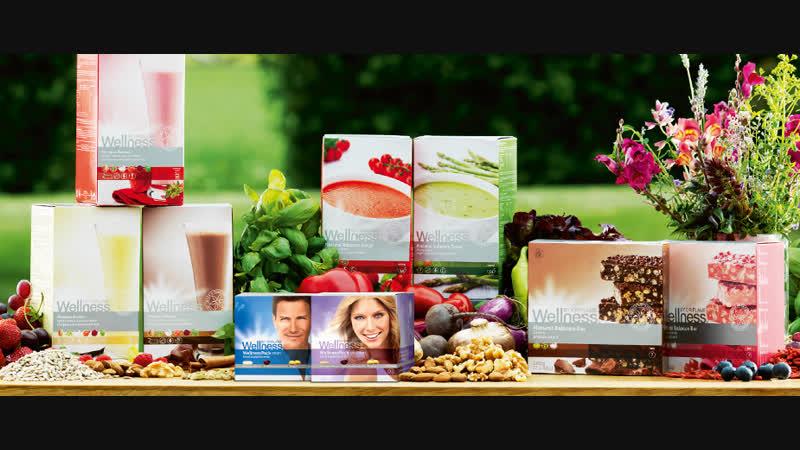 Для красоты и здоровья продукты Wellness от Oriflame