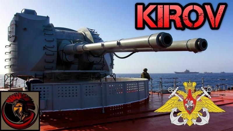 Russia's Kirov Class Battle Cruiser | MEGA SHIP