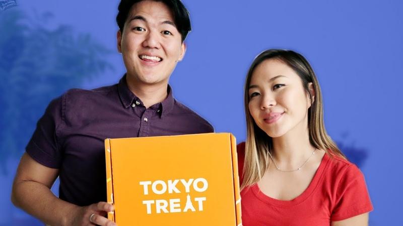 Japanese Snack Box Taste Test TOKYO TREAT BOX UNBOXING