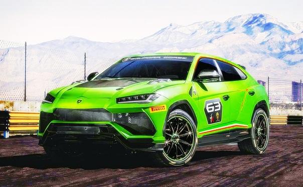 Lamborghini Urus получил гоночную версию. Первый в истории Lamborghini кроссовер подготовят для гонок: специальное подразделение бренда, Squadra Corse, показало Urus ST-X. Пока что он