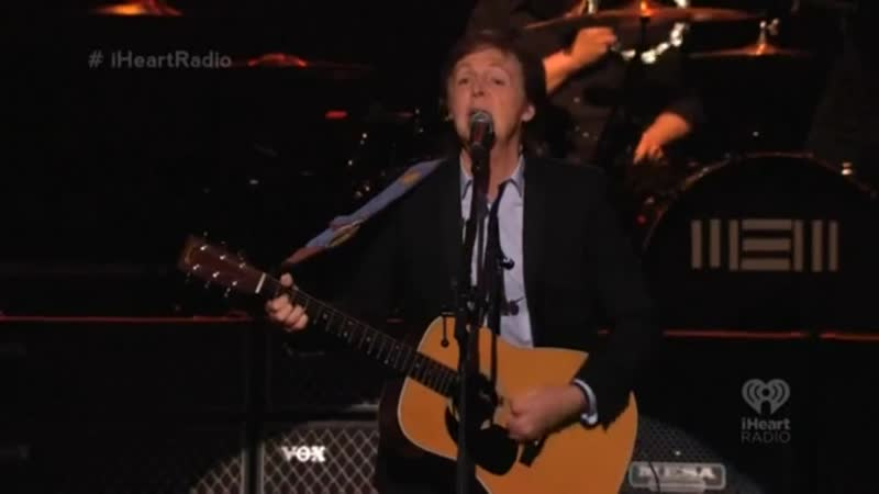 Paul McCartney – We Can Work It Out (917) Live at Frank Sinatra School Of The Arts (09.009.2013)