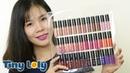 Swatch Review son kem NYX soft matte lip cream FULL 36 màu | Tiny Loly