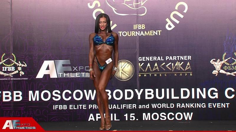 Ольга Бодунова - 1 место Moscow Bodybuilding Cup - 2018, фитнес-бикини до 169 см