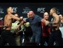 Взвешивание UFC 202 Конор МакГрегор vs Нейт Диаз 2.