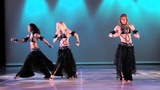'The Wolves' Belly Dance performance Neon with Angelys Jenna Rey